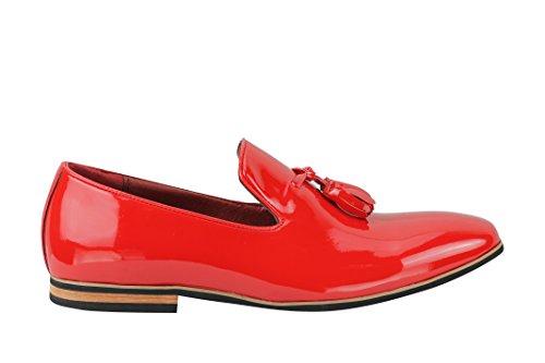 nbsp; Design Casual nappa Mocassini pelle in dimensioni Slip Xposed uomo scarpe da sintetica Smart Su 6 Scamosciata guida Pelle qwUnZ4x