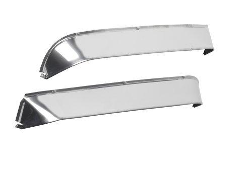Belmor VS-PBHV-1 Stainless Steel Ventshade for Peterbilt 2007-2013 330, 335, 1996-2007 357, 375, 377, 378, 379 (Short Nose)