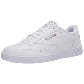 Reebok Men's Club MEMT Casual Sneakers, White/Steel, 4.5