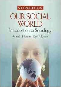 Test bank for our social world introduction to sociology 6th edition ….