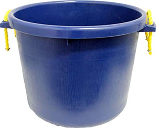 BUCKET MUCK SAPPHIRE blueE 70 QTS. (2 BUSHELS) FOB