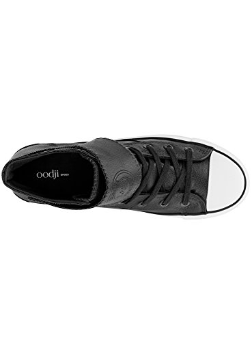 Nero 2910b con Alte in Punta Gomma in oodji Sintetica Sneakers Pelle Uomo Ultra 6nxA07P