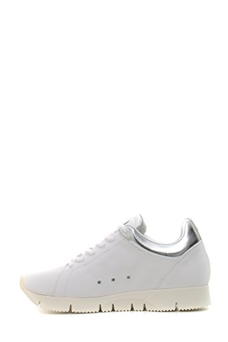 Leather Crown Damen MCBI185010O Weiss Leder Sneakers