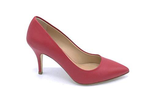 Colore D2339 Decollet Dee 7 Scarpa Beige Rosso In Julie Nappa 39 Taglia Cm Tacco OAxwE