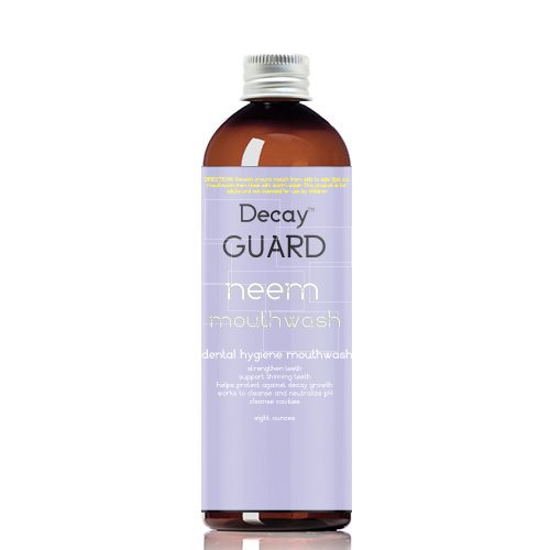Decay GUARD Neem Clean Natural Mouthwash