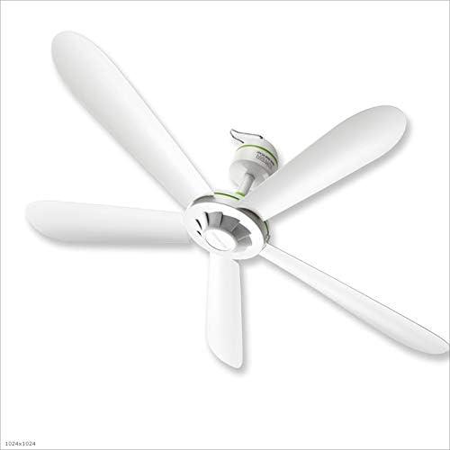 Fan Light Ventilador de techo de cinco hojas for el hogar Micro ...