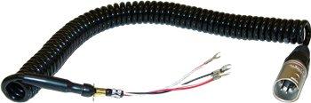 (Plugs, Jacks & Accessories-Telex Cord Unit W/Xlr 4-12C Plug 63287-001)
