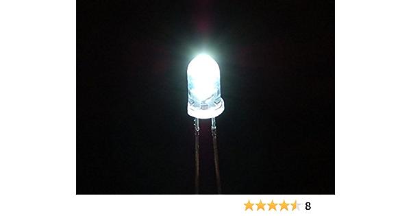Adafruit Accessories Super Bright White 5mm LED 25 pack 3DMakerWorld