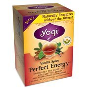 Yogi Vanilla Spice Perfect Energy Tea Bags, 16 count (Pack of 2)