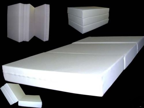 Brand New Natural Twin Size Shikibuton Trifold Foam Beds 6