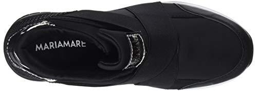 C43663 Negro 2 Femme lycra Basses Maria Noir Negro textura Mare Plomo 62157 lotus Negro Sneakers espejo OFaFAZ0n