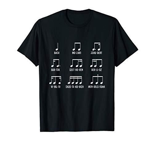 Classic Composers Shirt I Classical Music