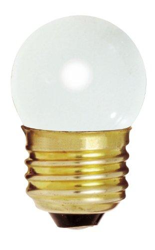 (Satco (S3607) 712S11W 120V Medium Base 7.5Watt S11 Incandescent Lamp , Case of 25)