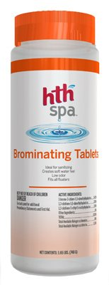 HTH Arch Chemical 86104 1.65-Lb. Spa Bromine Tablets, Must Purchase in Quantities of 6 - Quantity 6 by HTH