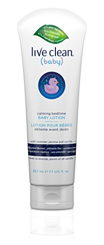 Large Product Image of Live Clean Baby Calming Bedtime Lotion, 7.7 oz.