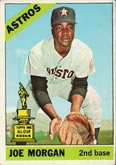 1966 Topps Regular (Baseball) Card# 195 Joe Morgan of the Houston Astros Good Condition ()