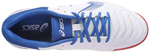 Gel Multicolore Asics Chaussures De Homme Tennis Blue 6 game race 100 white wdpqZrxp0