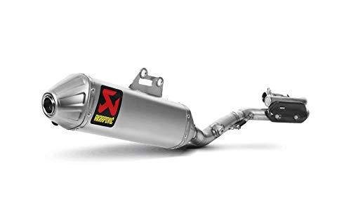 - Akrapovic 08-17 Suzuki RMZ450 Evolution Titanium Full System Exhaust with Spark Arrestor (Titanium)