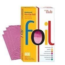 Product Club Ef400-fs 400 Ct Embossed Pre Cut Foil 5''x8'' Fuschia by Product Club
