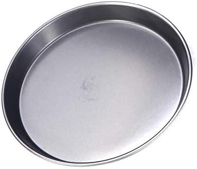 EIGHTT Pan Pizza Kuchen backen Form-Form Bakeware 8in runde Form Spülmaschinenfest Vielseitig Sturdy Backzubehör
