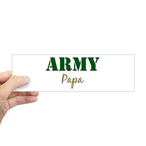 CafePress Army Papa Bumper Sticker 10