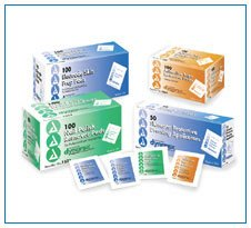 Adhesive Tape Remover Pad - 10 boxes of 100/Case