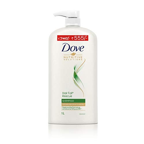 Dove Hair Fall Rescue Shampoo- For Weak Hair Prone To Hairfall, Deeply Nourishes From Roots Up And Reduces Hair Fall By…