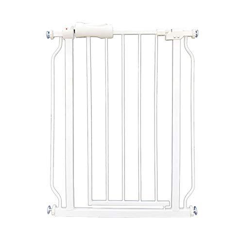 Control 206 Unit (Baby Gates Extra-Wide Child Safety Gate with Doorway, Pressure Mount Walk-Through Pet Dog Gate for Hallway, 61-265.9cm Wide, White (Size : Width(206-217.9cm)))
