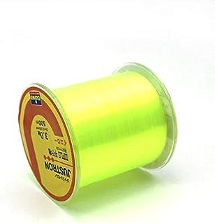 CUSHY Z60 Ligne de pêche Marque Daiwa série Super Strong Japon Monofilament en Nylon 500m diawa Ligne de pêche sans boîte en Plastique Paquet: Jaune, 5,0