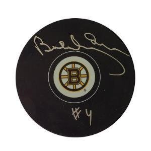 Bobby Orr Autographed Puck - Autographed NHL Pucks