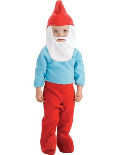 Halloween Costumes Item - Papa Smurf Newborn Baby (Papa Smurf Costume For Toddler)