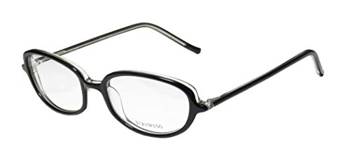 Vera Wang V40 For Ladies/Young Women/Girls Designer Full-Rim Shape Durable Trendy Made In Japan Eyeglasses/Eye Glasses (49-17-133, ()
