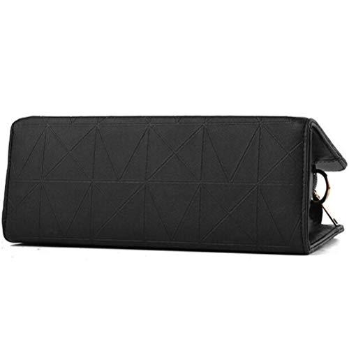 Bandoulière à à Black Bag LQQAZY Sac Pour Messenger Simple Sac Bandoulière Sac Femme à Main xvqpwS