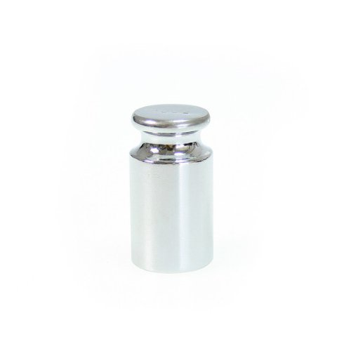 niceEshop(TM) 100g Gram Chrome Calibration Weight For Mini Pocket Digital Balance Scale-Silver