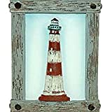 LIGHTHOUSE nautical NIGHTLIGHT night light BATH decor