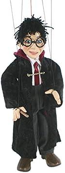 CAL FUSTER - Marioneta de Cuerda Harry Potter con Varita mágica. Medidas: 31 cm.