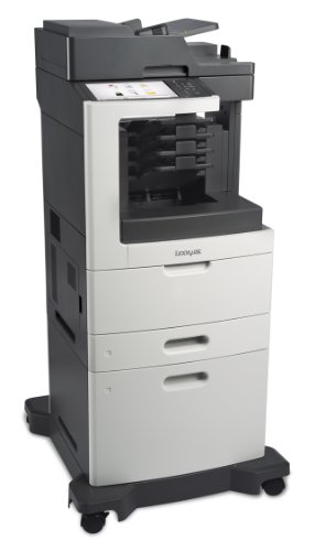 Lexmark MX811DXME Monochrome Printer with Scanner, Copier and Fax - 24T7430 ()