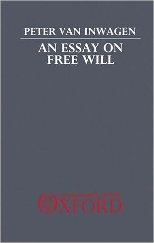 Help on argumentative essay on Free Will?