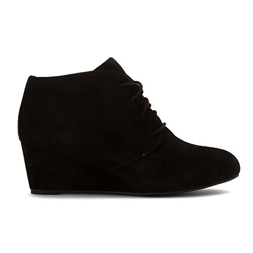 Vionic Women's Becca Wedge Bootie Black 9 W
