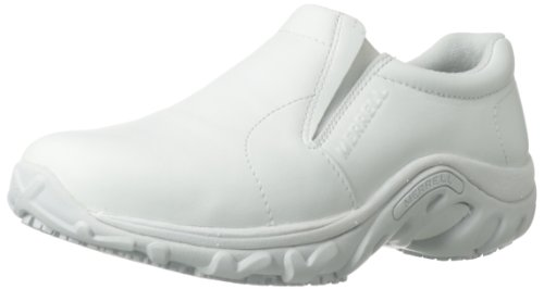 Merrell Men's Jungle Moc Pro Grip-M, White, 7 M US