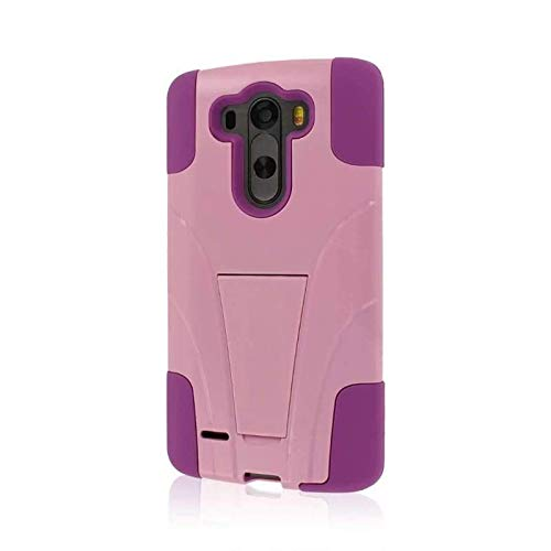 (Empire MPERO IMPACT X Series Kickstand Case for LG G3 - Retail Packaging - Pink)