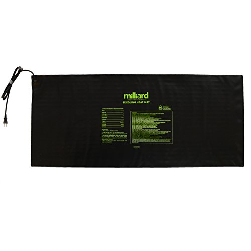 "Milliard Durable 48"" x 20"" Waterproof Hydroponic Seedling Heat Mat / Warm Heating Pad to Increase and Expedite Plant Growth"