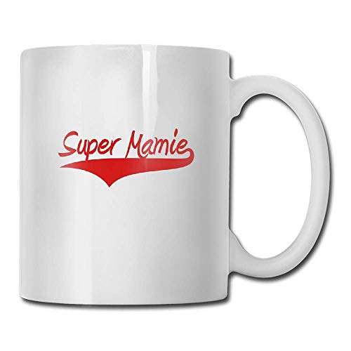 (PIHJE mugs Super Mamie Tea Cup Novelty Gift for Lovers)