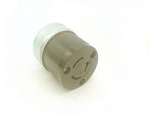 BRYANT 7313 Armored PHENOLIC Locking CONNECR Plug, 3 Pole, 3 Wire, 20A, - Plug 3 Armored Wire