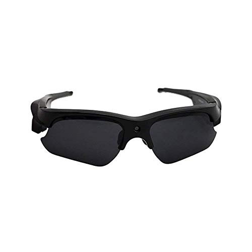 Price comparison product image Sunglasses Camera, KINGEAR SG110 HD 1080P Sunglasses Sport Glasses Mini Camera with UV Protection Polarized Lens (Black)