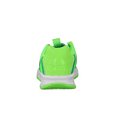 Adidas rapidaturf x K–Bottes de fútbolpara enfants, vert–(Versol/negbas/verbas), 32