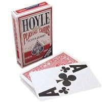 Hoyle Super Jumbo Bridge Style Playing Cards (Single Deck)