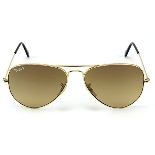 202b04a328e1f 50%OFF Ray-Ban RB3025 001 M2 Aviator Shiny Gold Frame   Brown ...