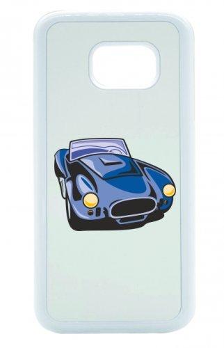 """Smartphone Case Apple IPhone 4/ 4S """"hot Rod Sportwagen Oldtimer Young Timer Shellby Cobra GT Muscel Car America Motiv 9734"""" Spass- Kult- Motiv Geschenkidee Ostern Weihnachten"""