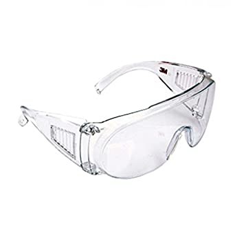 3m Clear Eye Lens Glasses With Protection transparent 1611 dxQBWeECro